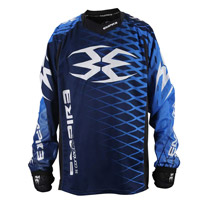 Empire 2015 Contact Zero F5 Paintball Jersey Blue