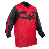 Valken Fate II Paintball Jersey Red