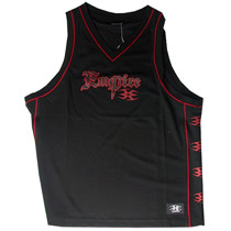 Empire Basketball Jerseys Black/ Red
