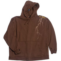 Empire SE Hoodie Sweatshirt Crack Brown Medium