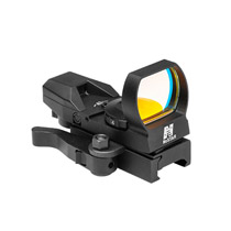 NcSTAR Tactical Sight Green 4 Recticle Quick Release Weaver Mount D4BGQ