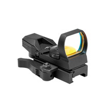 NcSTAR Zombie Tactical Sight Green 4 Recticle Quick Release Weaver Mount DZ4BQ