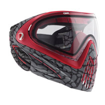 Dye I4 Thermal Paintball Goggles 2015 Skinned - Red
