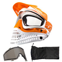 JT Spectra Proflex LE 2.0 Paintball Thermal Goggle Orange White