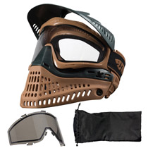 JT Spectra Proflex LE 2.0 Paintball Thermal Goggle Black Brown