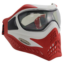 VForce Grill Paintball Mask SE White/Red Thermal