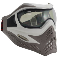 VForce Grill Paintball Mask SC White/Taupe Thermal
