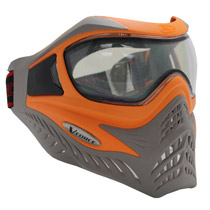 VForce Grill Paintball Mask SE Orange/Taupe Thermal