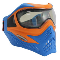 VForce Grill Paintball Mask SC Orange/Blue Thermal