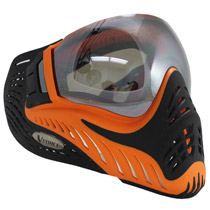 VForce Profiler Paintball Mask SE Orange/Black Thermal Mirror Lens