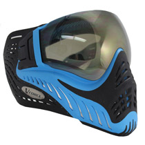 VForce Profiler Paintball Mask SE Blue/Black Thermal Mirror Lens