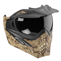 VForce Grill Paintball Mask SE Desert Camo Brown Thermal