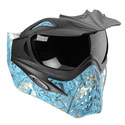 VForce Grill Paintball Mask SE Ronin Blue Thermal