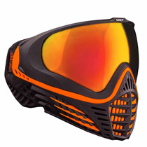 Virtue VIO Contour Thermal Paintball Goggle - Black Amber