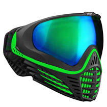 Virtue VIO Contour Thermal Paintball Goggle - Black Emerald