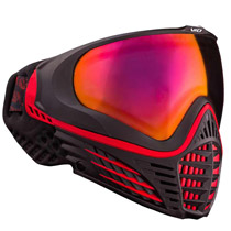 Virtue VIO Contour Thermal Paintball Goggle - Black Fire