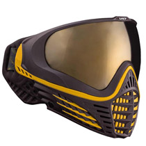 Virtue VIO Contour Thermal Paintball Goggle - Black Gold