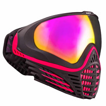 Virtue VIO Contour Thermal Paintball Goggle - Black Ruby