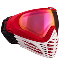 Virtue VIO Contour Thermal Paintball Goggle - White Fire