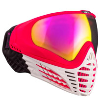 Virtue VIO Contour Thermal Paintball Goggle - White Ruby
