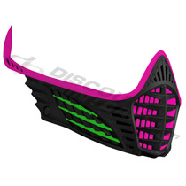 Virtue VIO Facemask Pink Lime Black