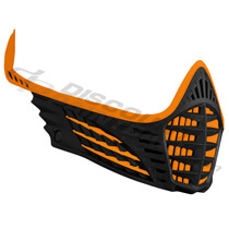 Virtue VIO Facemask Orange Orange Black