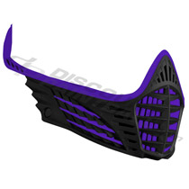 Virtue VIO Facemask Purple Purple Black