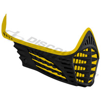 Virtue VIO Facemask Yellow Yellow Black