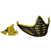 Virtue VIO Facemask Gold Gold Black