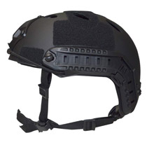 Valken Tactical ATH Airsoft Helmet Enhanced P Black