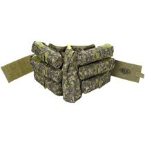 BT 08 Bandolier Paintball Pack 6+1 Woodland Digital Camo