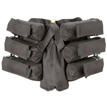 BT 08 Bandolier Paintball Pack 6+1 Black