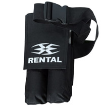 Empire 2 Pod Rental Pouch - Black
