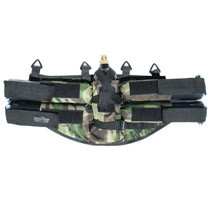GXG Horizontal 4+1 Paintball Harness Woodland