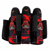 Valken Paintball Harness Crusade 3+6 Hatch Red
