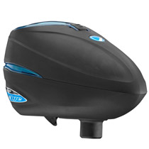 Dye Rotor R2 Paintball Loader - Black / Cyan