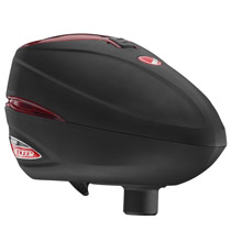 Dye Rotor R2 Paintball Loader - Black / Red