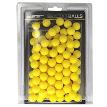 JT Reusable Practice Paintballs 100 Count Yellow