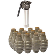 Valken Tactical Thunder B Grenade Pineapple 12 Pack W/Core