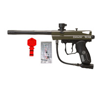 Spyder Victor Paintball Gun Olive *Refurbished*