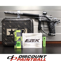 Planet Eclipse Etek 4 AM Paintball Marker Titan White *Used*
