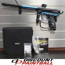 Proto 2012 Reflex Rail Paintball Gun - Black / Teal *Used*