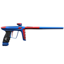 DLX Luxe Ice Paintball Gun Blue Red Accents