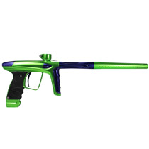 DLX Luxe Ice Paintball Gun Slime Green Purple Accents