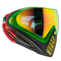 Dye I4 Thermal Paintball Goggles 2016 Rasta