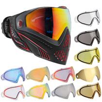 Dye I5 Thermal Paintball Goggles Fire with Free Lens