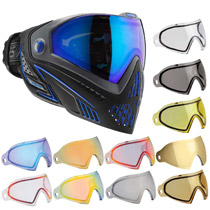 Dye I5 Thermal Paintball Goggles Storm with Free Lens