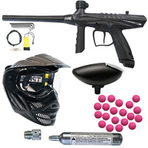 Tippmann Gryphon Paintball Gun FX Carbon Fiber Marker Players Kit