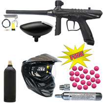 Tippmann Gryphon FX Carbon Fiber Paintball Marker Players Kit #2