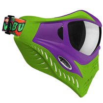 V-Force Grill Paintball Mask Cowabunga Series Purple/Green Thermal